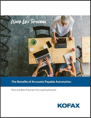 Benefits of Accounts Payable Automation Whitepaper