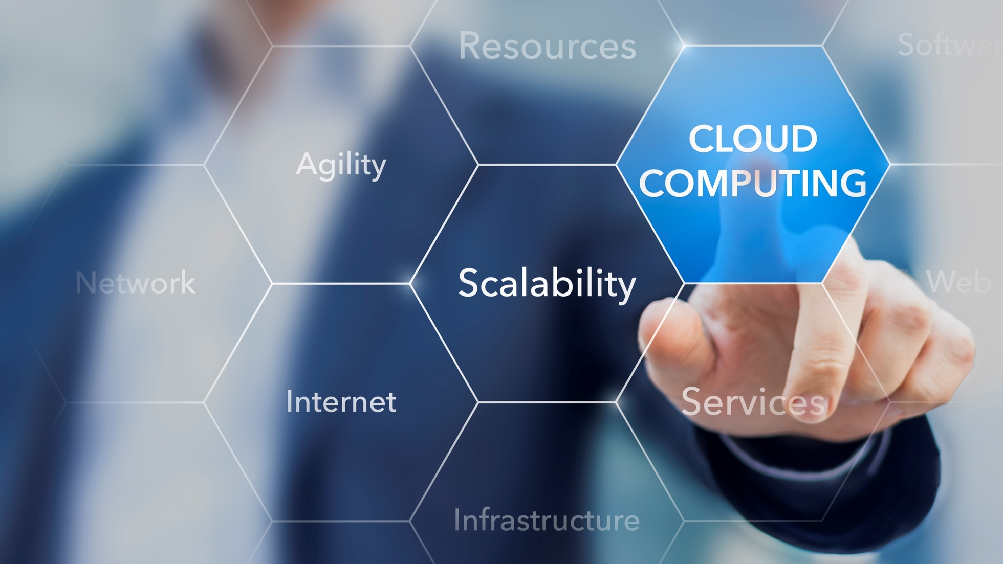 Consultant-promoting-cloud-computing-resources-and-services