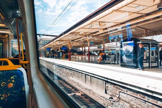 Flinder street Melbourne train station