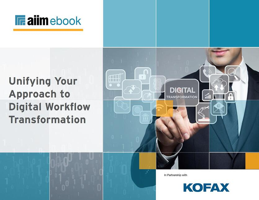 Unifying your approach to digital workflow transformation
