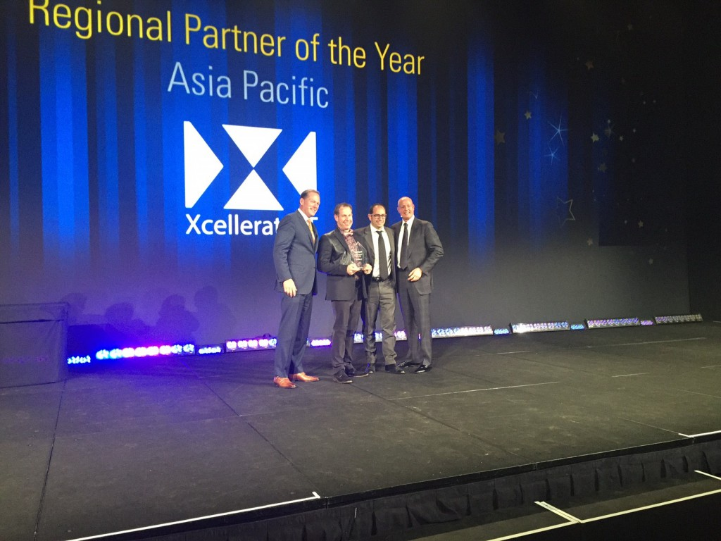 Xcellerate IT receives the Kofax APAC Partner of the Year Award
