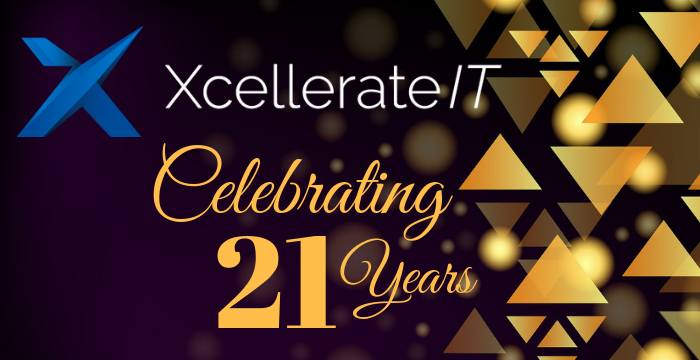 Xcellerate IT Celebrates 21 Years of Excellence in Business Process Automation