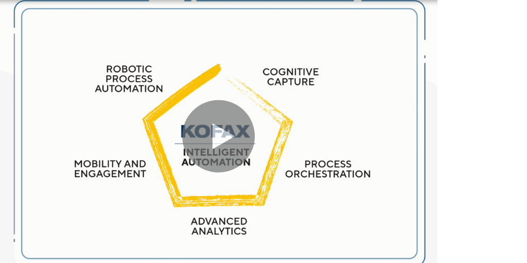 Kofax Intelligent Automation: Changing the way business is done with a digital workforce