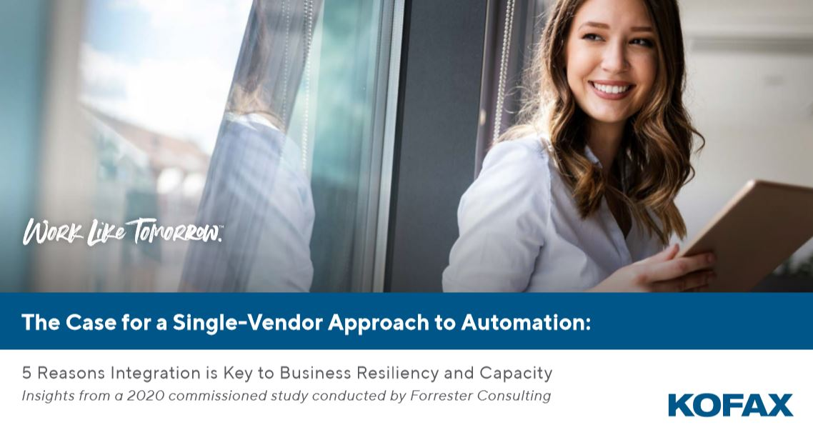The Case for a Single-Vendor Approach to Automation